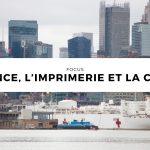 La France, l'imprimerie et la COVID-19