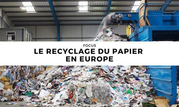 Le recyclage du papier en Europe